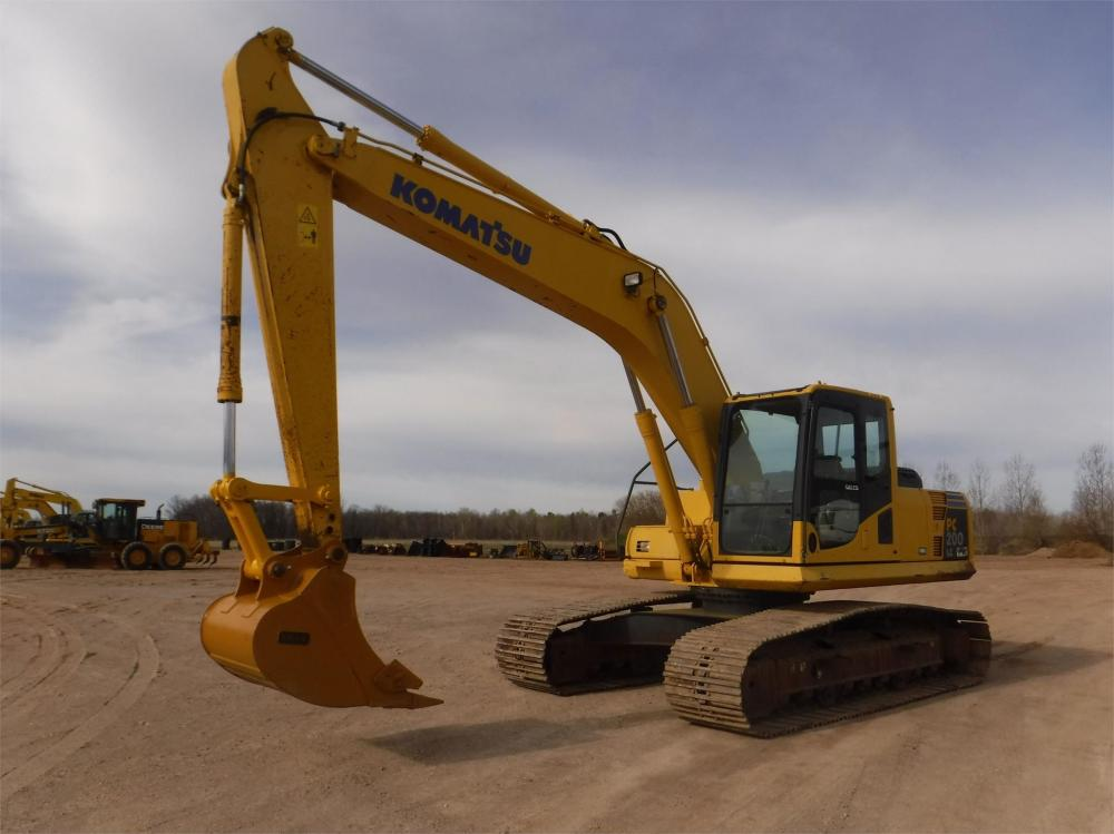 Detail photo of 2008 Komatsu PC200LC-8 from Construction Equipment Guide