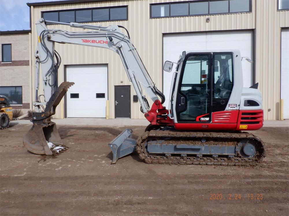 Detail photo of 2019 Takeuchi TB290 from Construction Equipment Guide