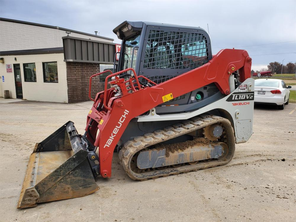 Detail photo of 2020 Takeuchi TL10V2 from Construction Equipment Guide