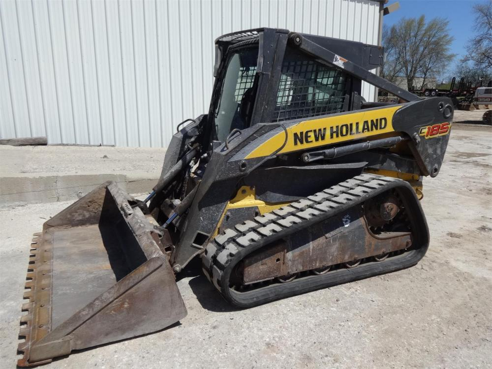Detail photo of 2008 New Holland C185 from Construction Equipment Guide