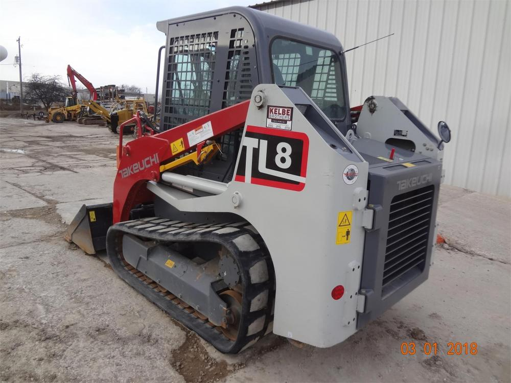 Detail photo of 2017 Takeuchi TL8 from Construction Equipment Guide