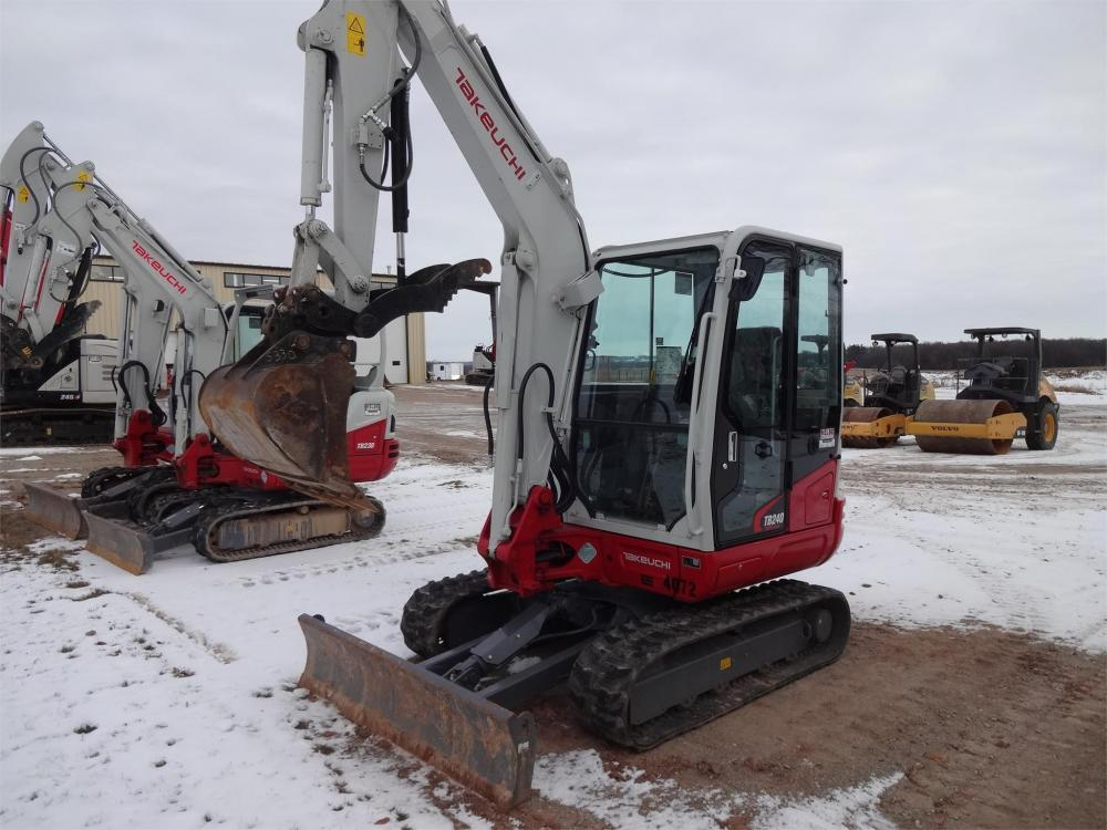 Detail photo of 2018 Takeuchi TB240 from Construction Equipment Guide