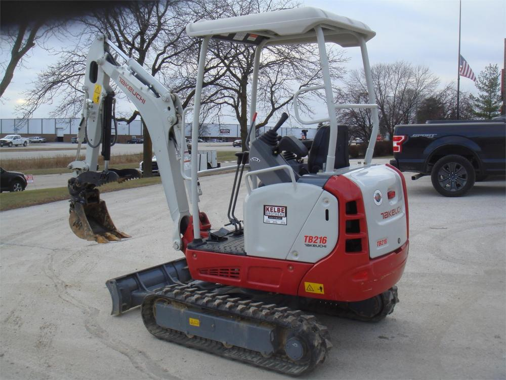 Detail photo of 2018 Takeuchi TB216R from Construction Equipment Guide