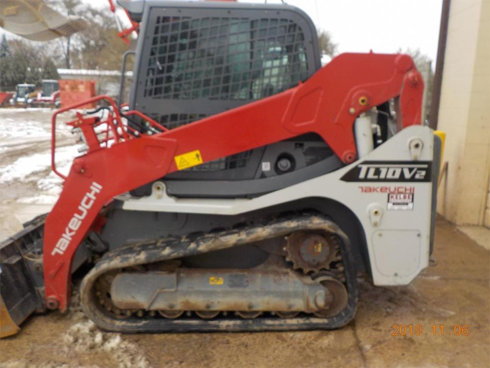 Detail photo of 2018 Takeuchi TL10V2 from Construction Equipment Guide