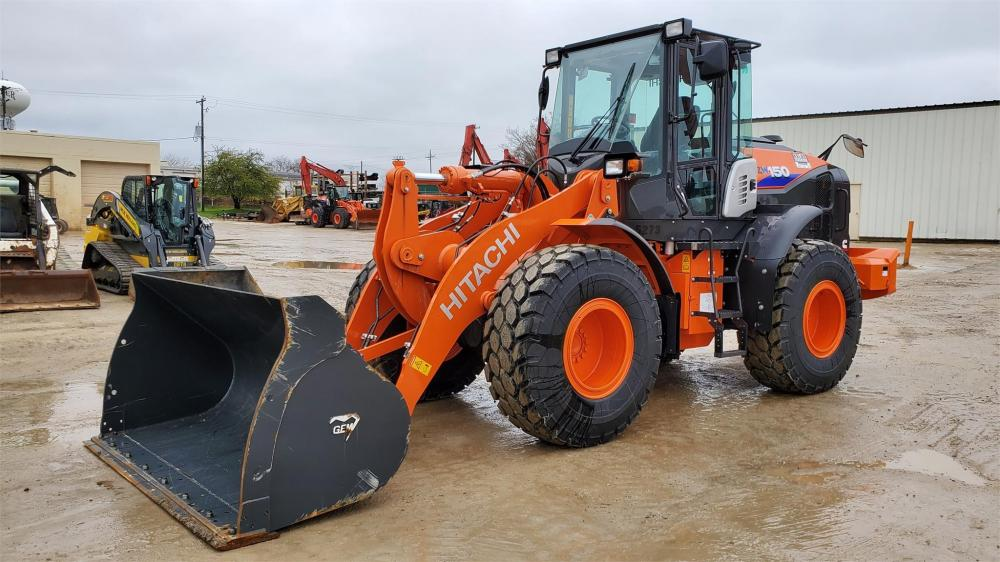 Detail photo of 2019 Hitachi ZW150-6 from Construction Equipment Guide