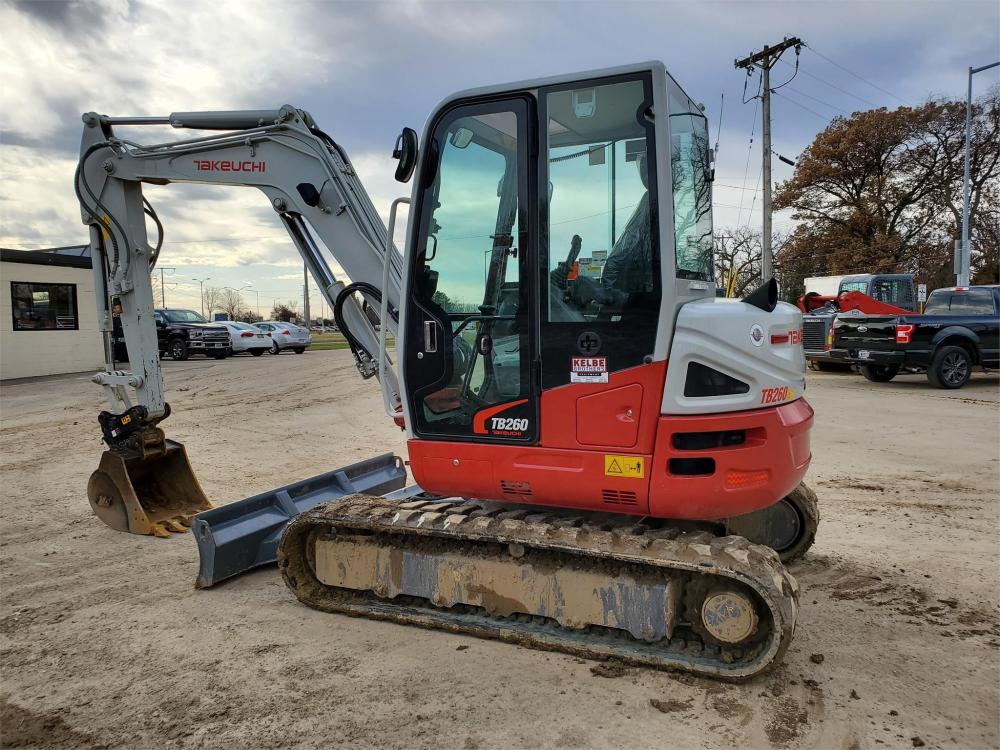 Detail photo of 2020 Takeuchi TB260 from Construction Equipment Guide