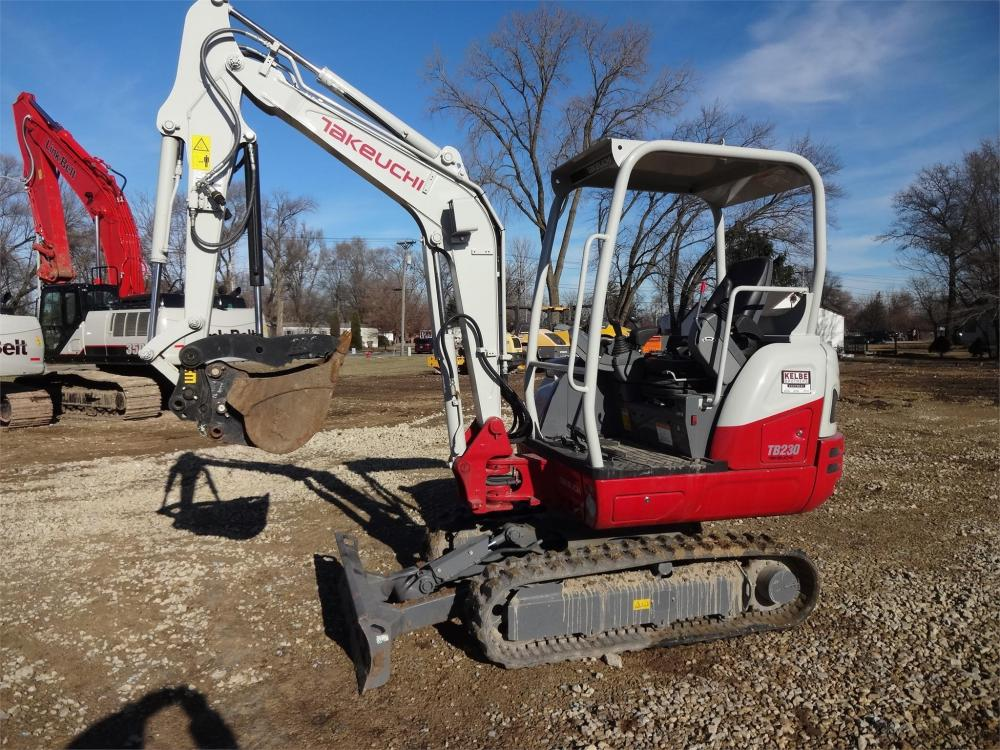 Detail photo of 2019 Takeuchi TB230 from Construction Equipment Guide