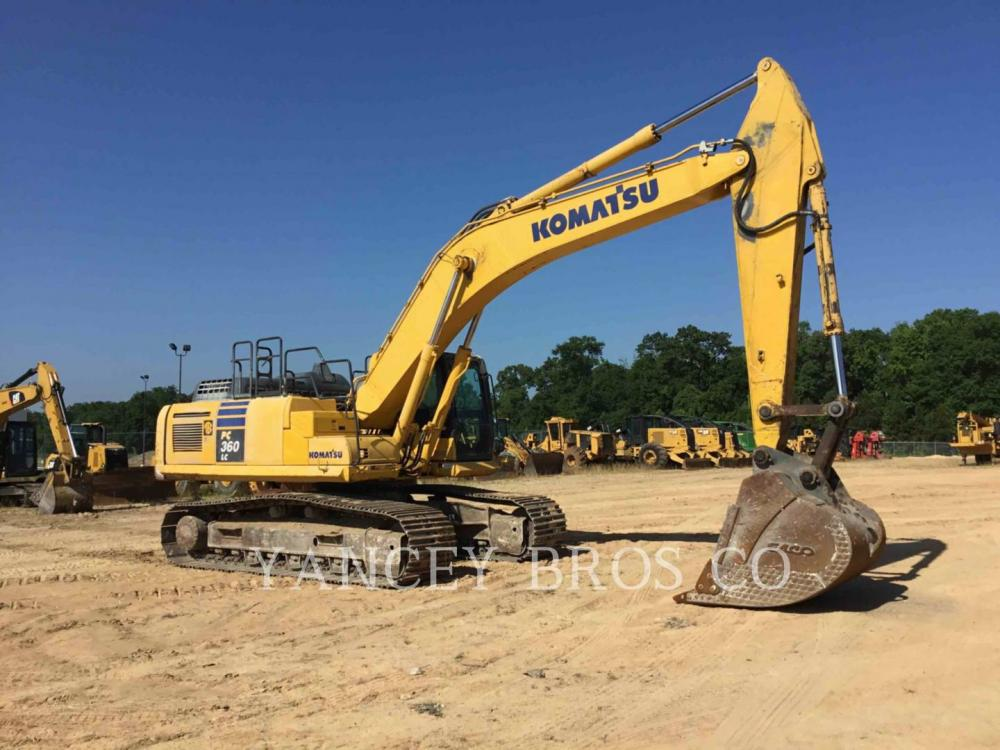 Detail photo of 2015 Komatsu PC360LC from Construction Equipment Guide