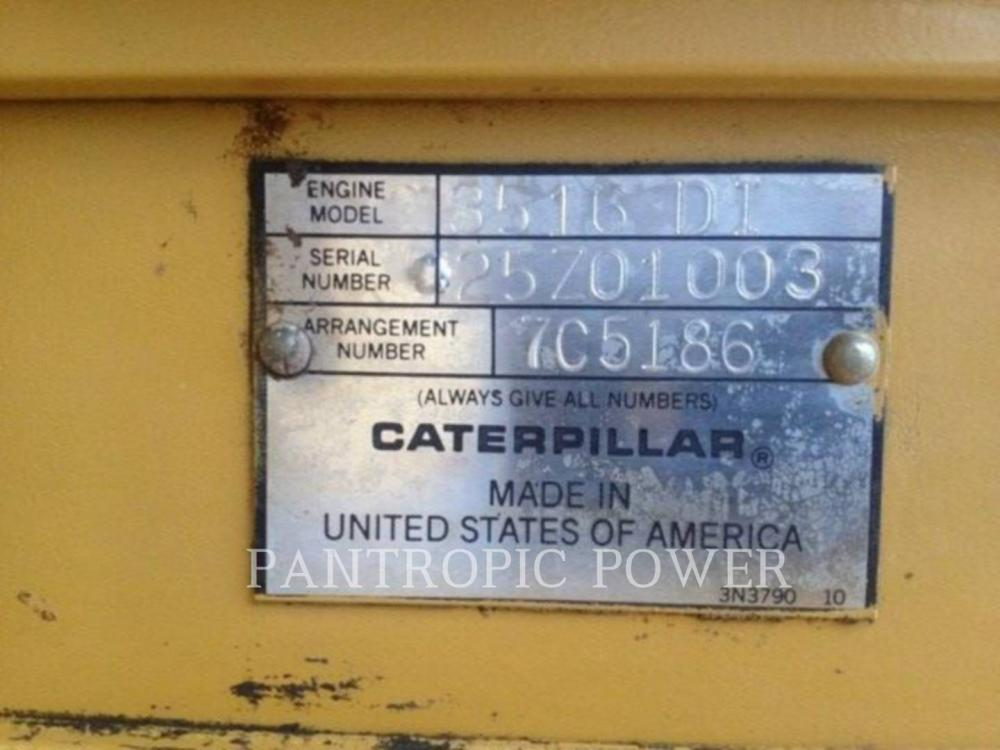 Detail photo of 1987 Caterpillar 3516 from Construction Equipment Guide