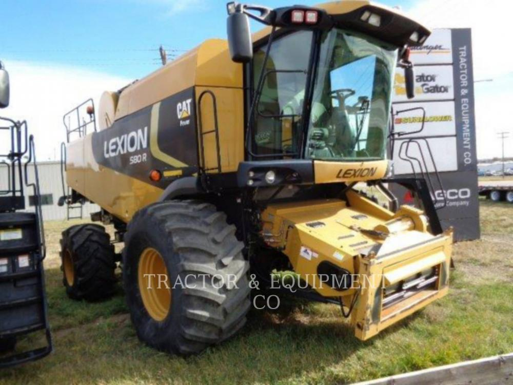 Detail photo of 2009 Lexion LX580R from Construction Equipment Guide