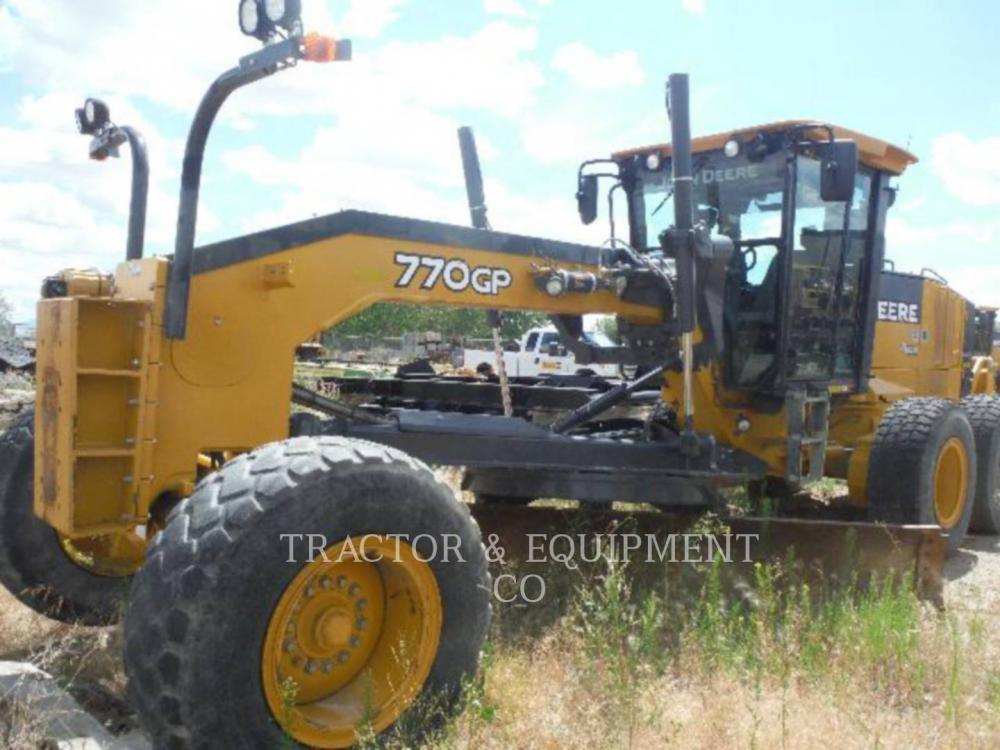 Detail photo of 2010 John Deere 770GP from Construction Equipment Guide
