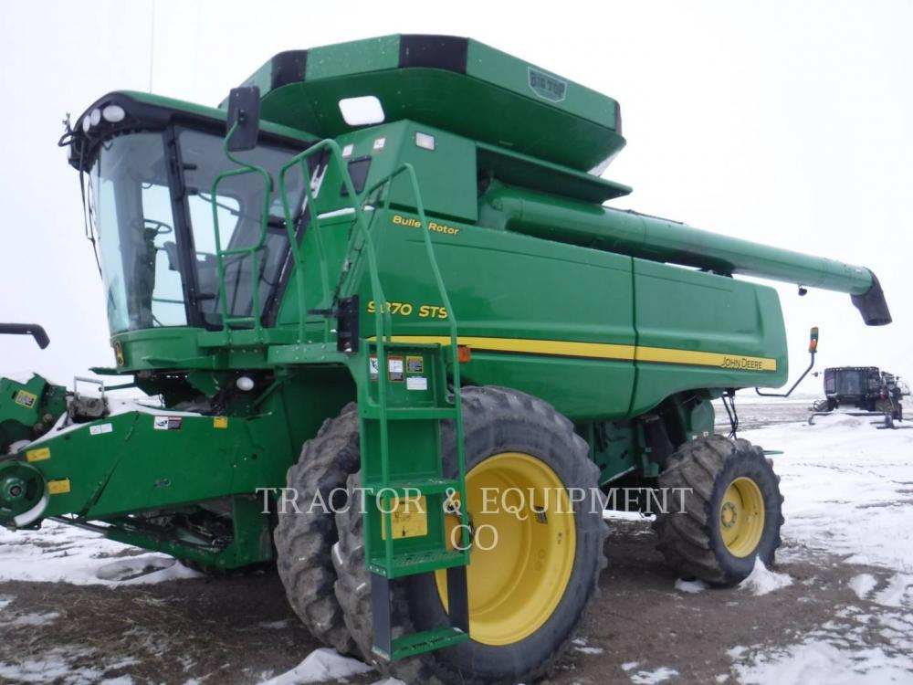 Detail photo of 2008 John Deere 9870 from Construction Equipment Guide