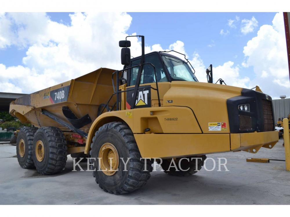 Detail photo of 2013 Caterpillar 740B from Construction Equipment Guide