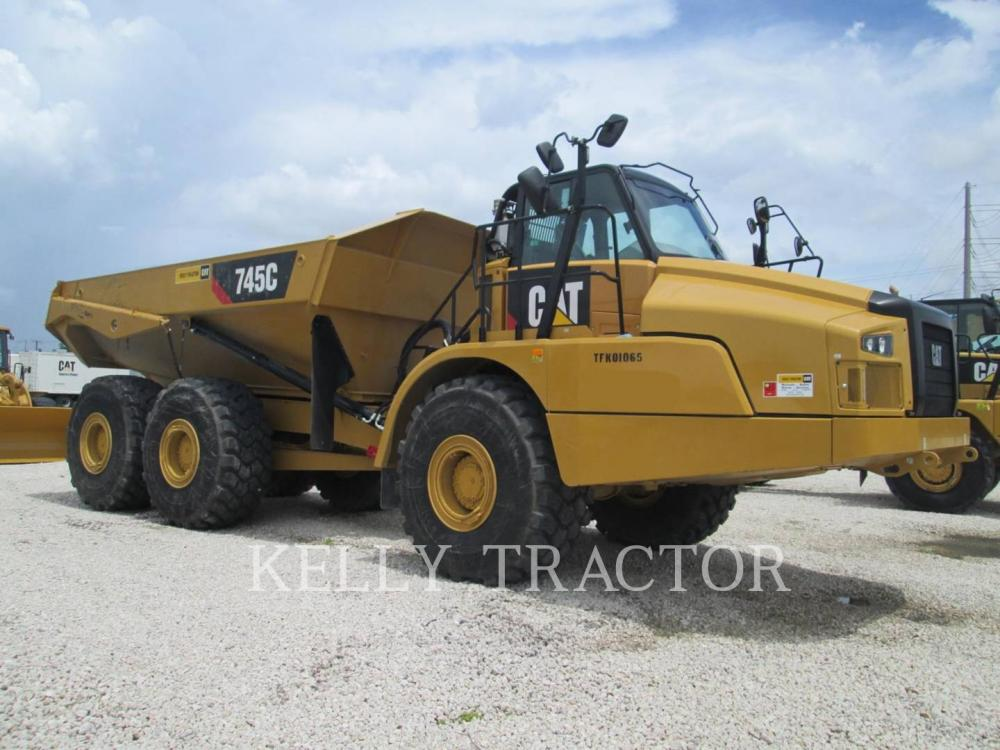 Detail photo of 2016 Caterpillar 745C from Construction Equipment Guide