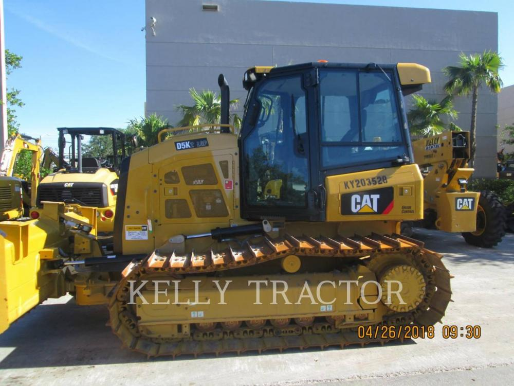 Detail photo of 2018 Caterpillar D5K LGP II from Construction Equipment Guide