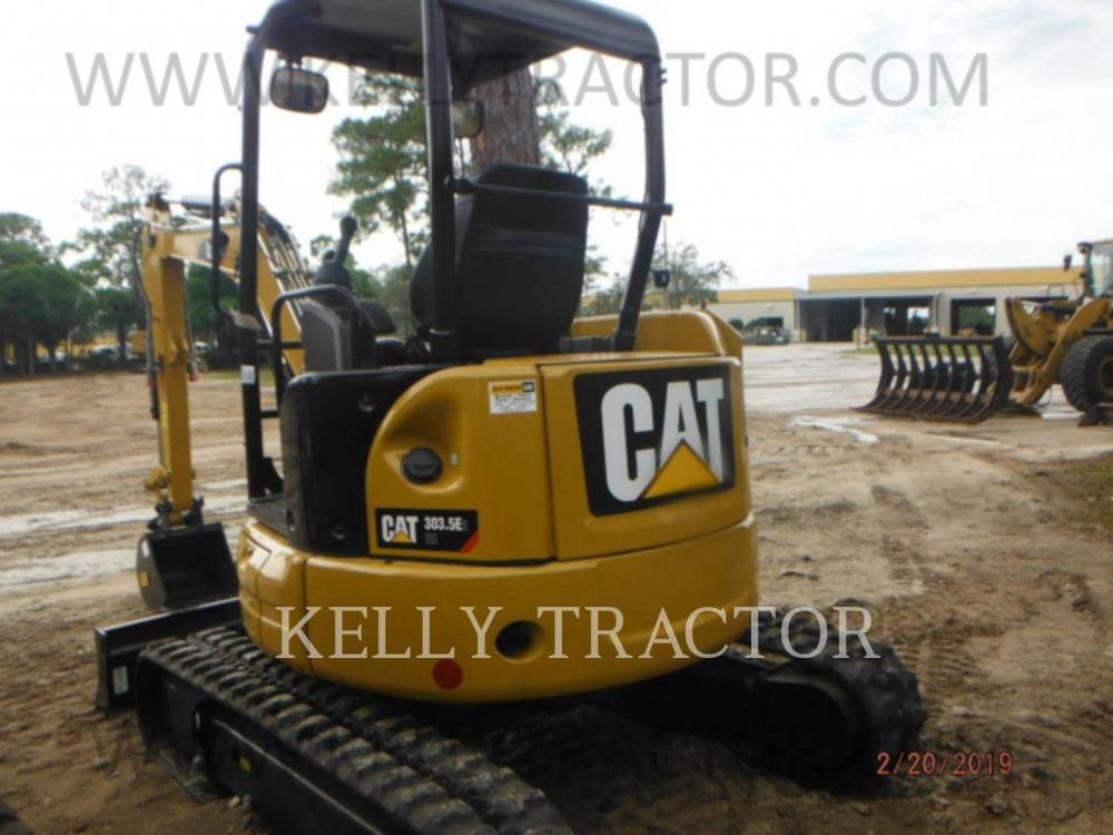 Detail photo of 2019 Caterpillar 303.5E2 CR from Construction Equipment Guide