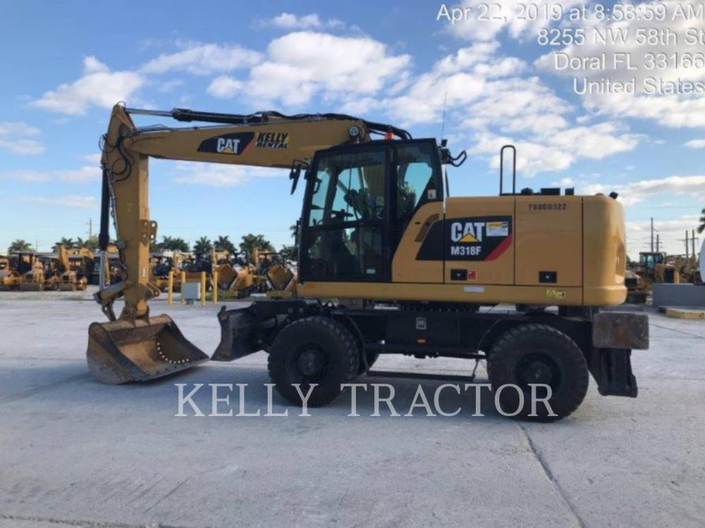 Detail photo of 2017 Caterpillar M318F from Construction Equipment Guide