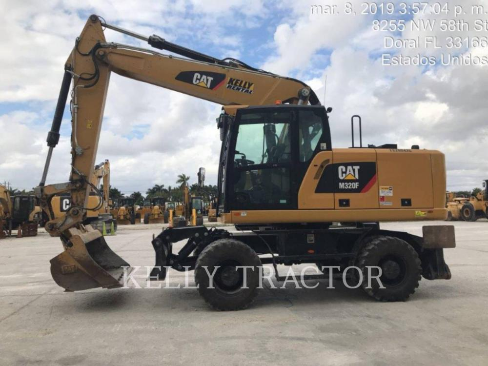 Detail photo of 2018 Caterpillar M320F from Construction Equipment Guide