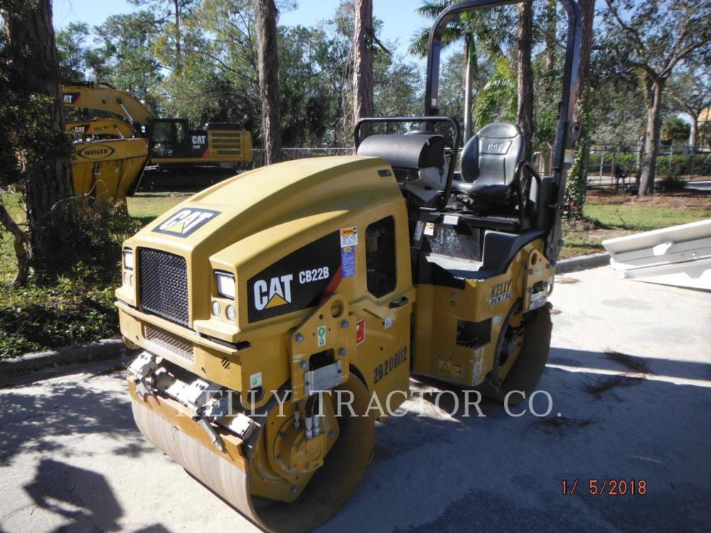 Detail photo of 2016 Caterpillar CB22B from Construction Equipment Guide