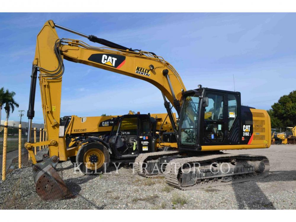 Detail photo of 2016 Caterpillar 316E from Construction Equipment Guide