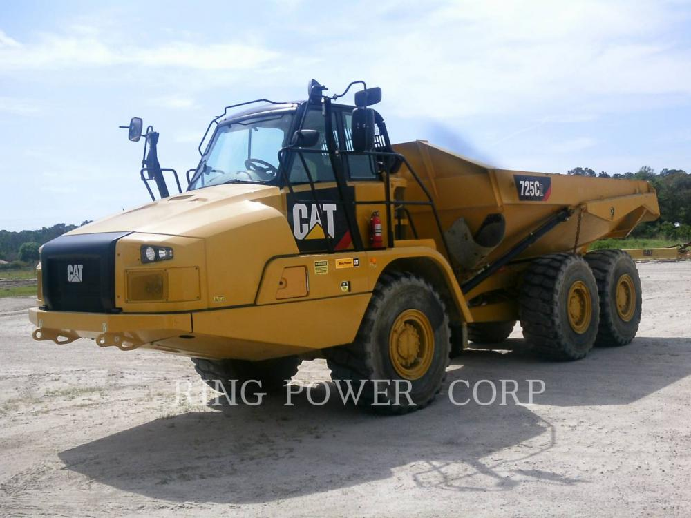 Detail photo of 2016 Caterpillar 725C2 from Construction Equipment Guide