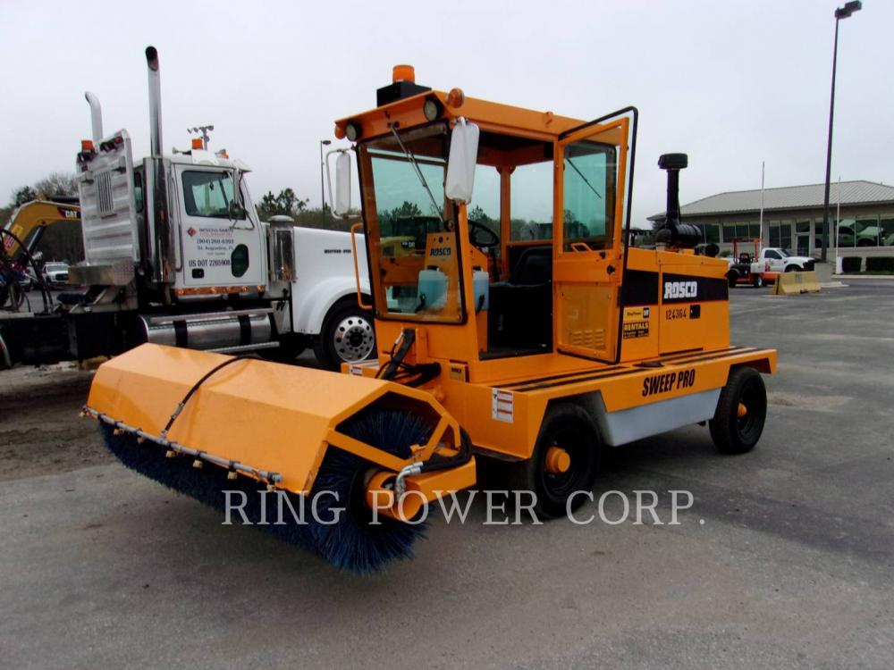 Detail photo of 2015 LeeBoy SWEEPPRO from Construction Equipment Guide