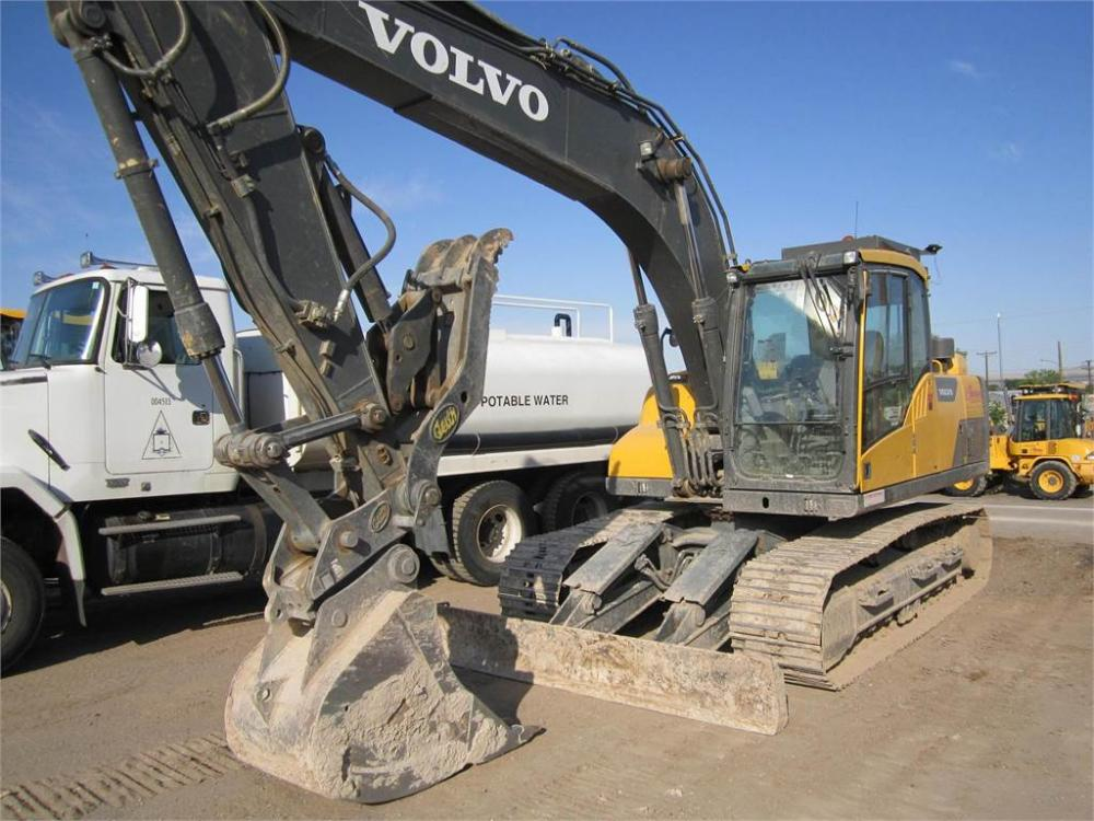 Detail photo of 2014 Volvo EC160DL from Construction Equipment Guide