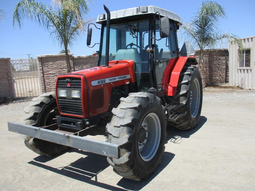 Detail photo of 0 Massey Ferguson 492 from Construction Equipment Guide