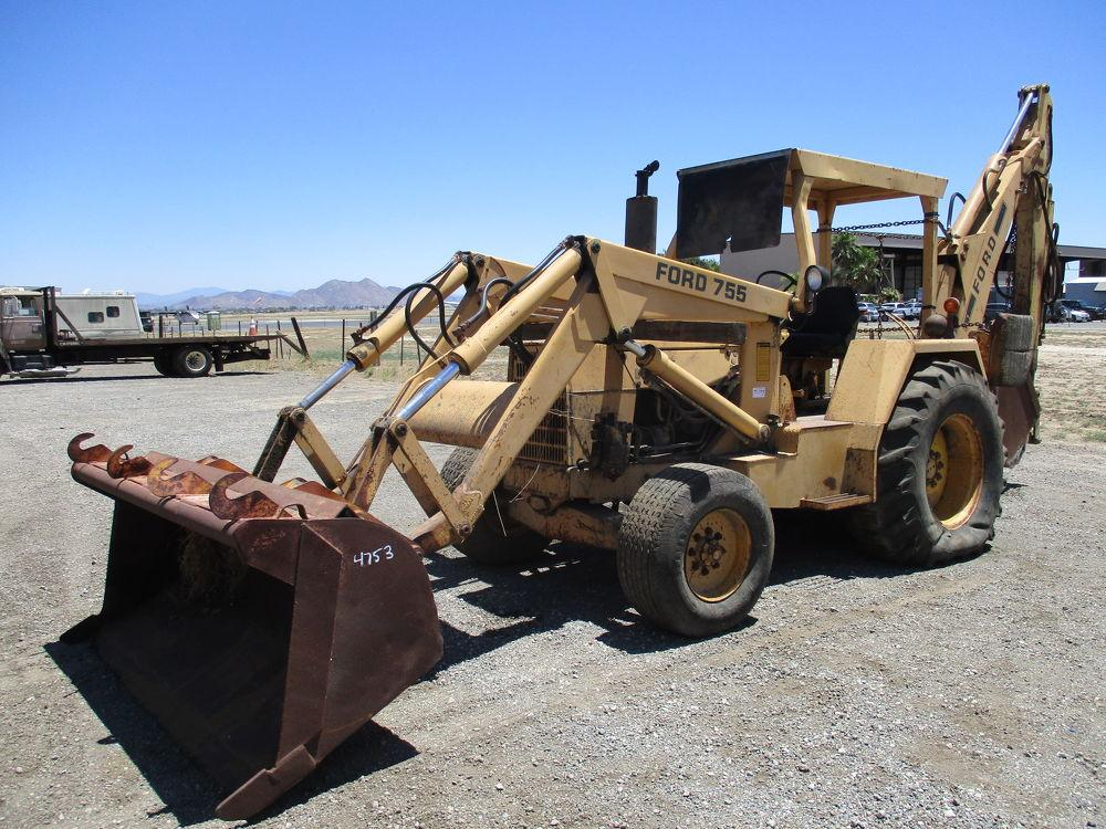 Detail photo of 0 Ford 755 from Construction Equipment Guide