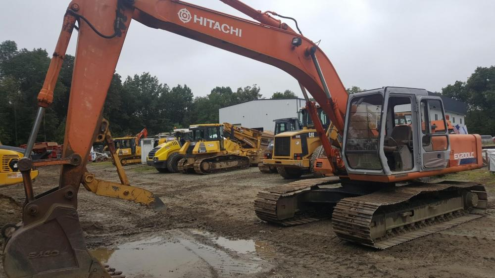 Detail photo of  Hitachi EX200 LC from Construction Equipment Guide