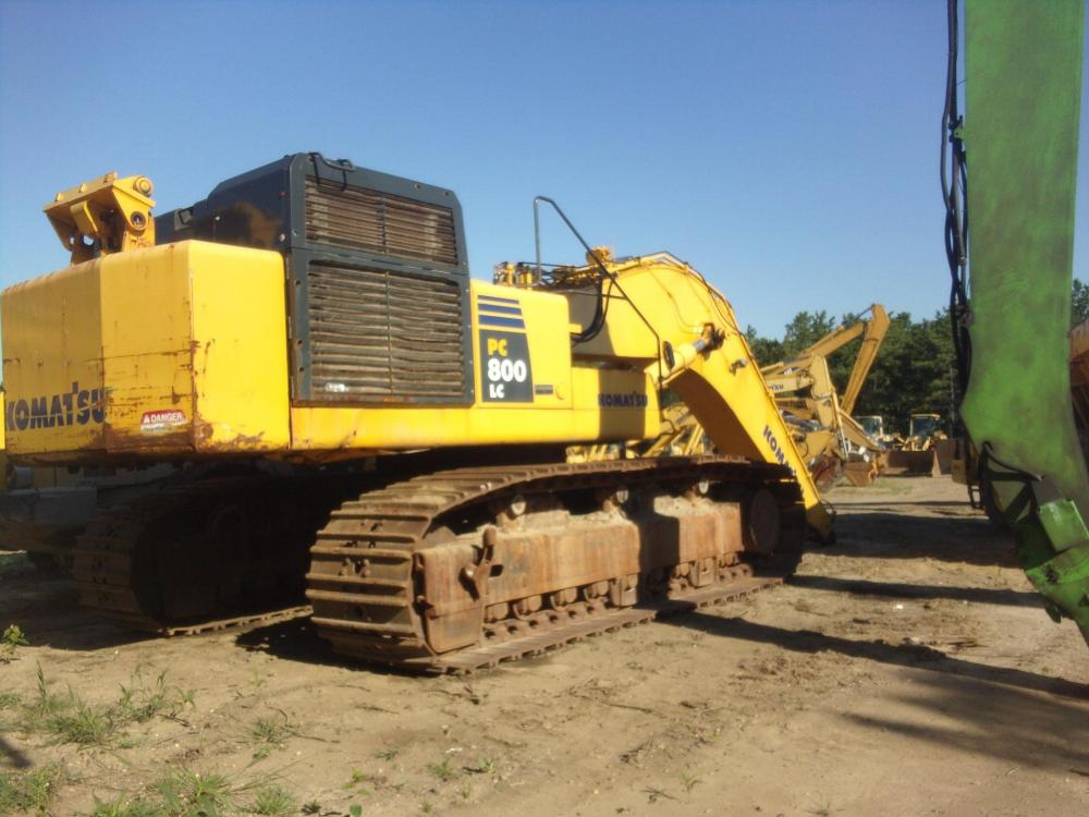 Detail photo of 2008 Komatsu PC800LC-8 from Construction Equipment Guide