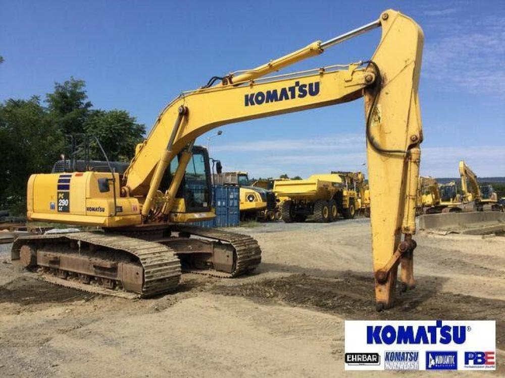 Detail photo of 2014 Komatsu PC290LC-10 from Construction Equipment Guide
