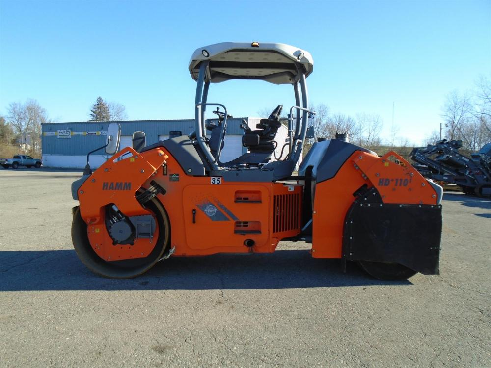 Detail photo of 2014 Hamm HD+ 110VT from Construction Equipment Guide