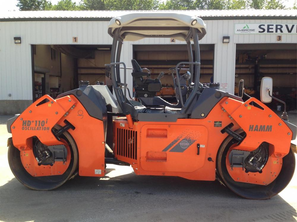 Detail photo of 2014 Hamm HD 110VO from Construction Equipment Guide