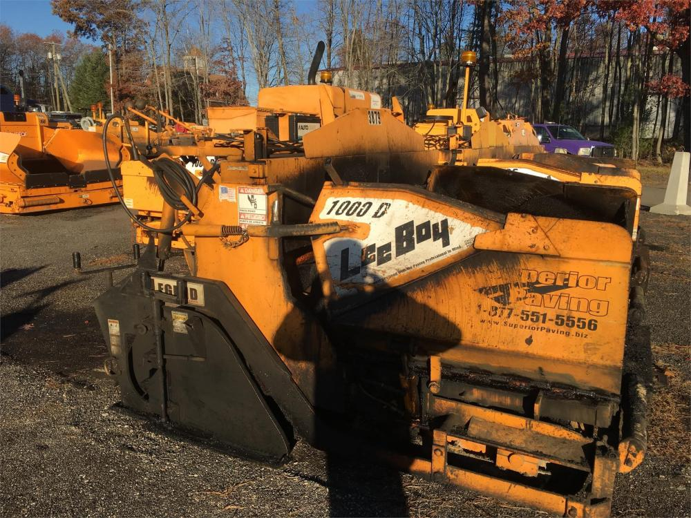 Detail photo of 2003 LeeBoy 1000D from Construction Equipment Guide
