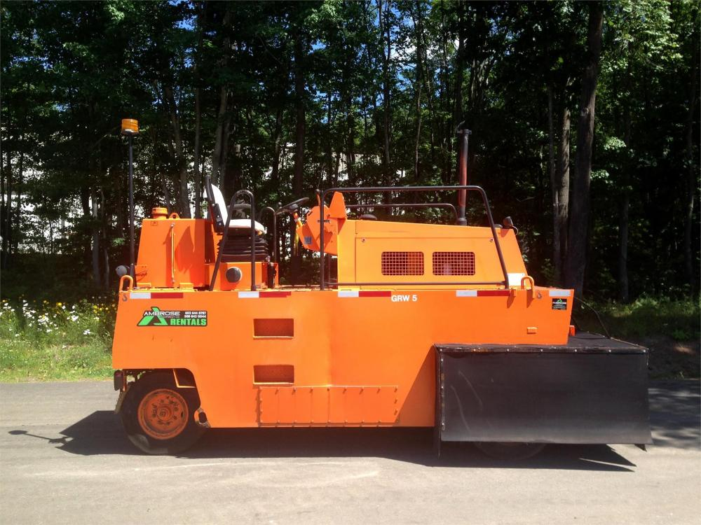 Detail photo of 2001 Hamm GRW 5 from Construction Equipment Guide