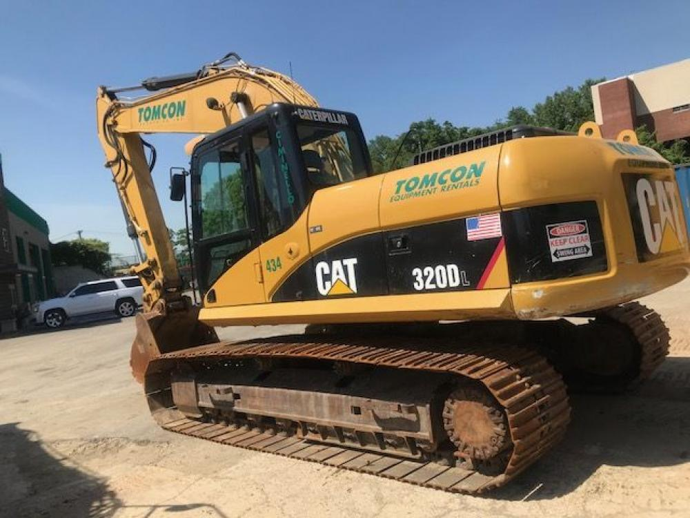 Detail photo of 2008 Caterpillar 320D L from Construction Equipment Guide