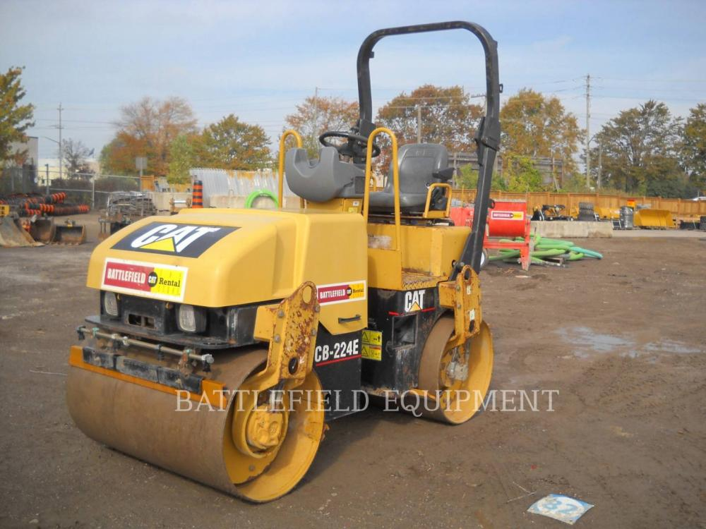 Detail photo of 2006 Caterpillar CB224E from Construction Equipment Guide