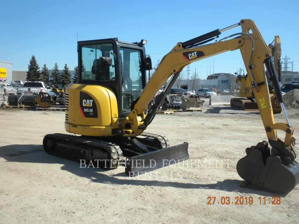 Detail photo of 2014 Caterpillar 303.5E from Construction Equipment Guide