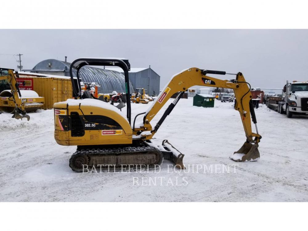 Detail photo of 2012 Caterpillar 302.5C from Construction Equipment Guide