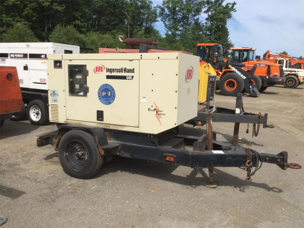 Detail photo of 2002 Ingersoll Rand G40 from Construction Equipment Guide
