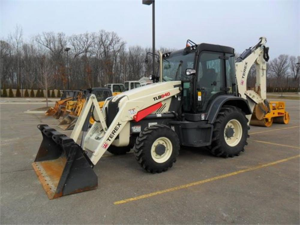 Detail photo of 2012 Terex TLB 840 from Construction Equipment Guide