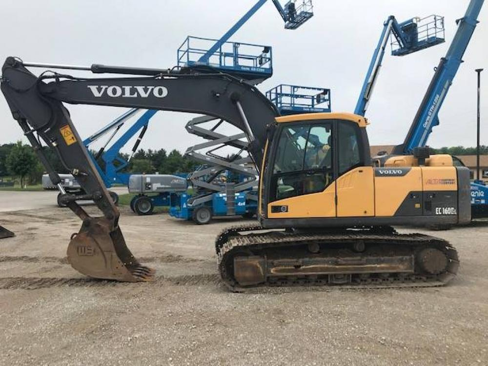 Detail photo of 2013 Volvo EC160DL from Construction Equipment Guide