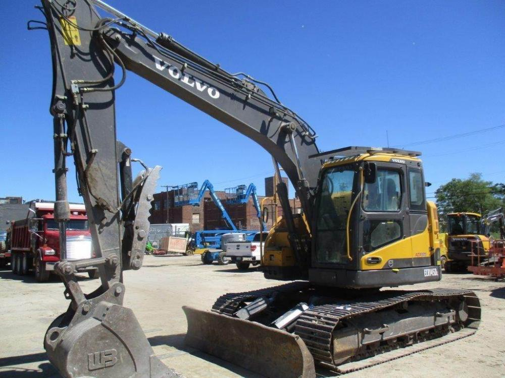 Detail photo of 2013 Volvo ECR145DL from Construction Equipment Guide