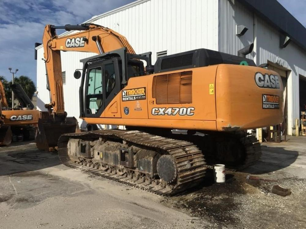 Detail photo of 2015 Case CX470C from Construction Equipment Guide