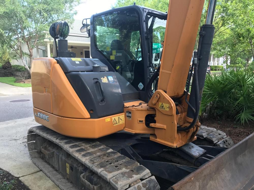 Detail photo of 2014 Case CX80C from Construction Equipment Guide