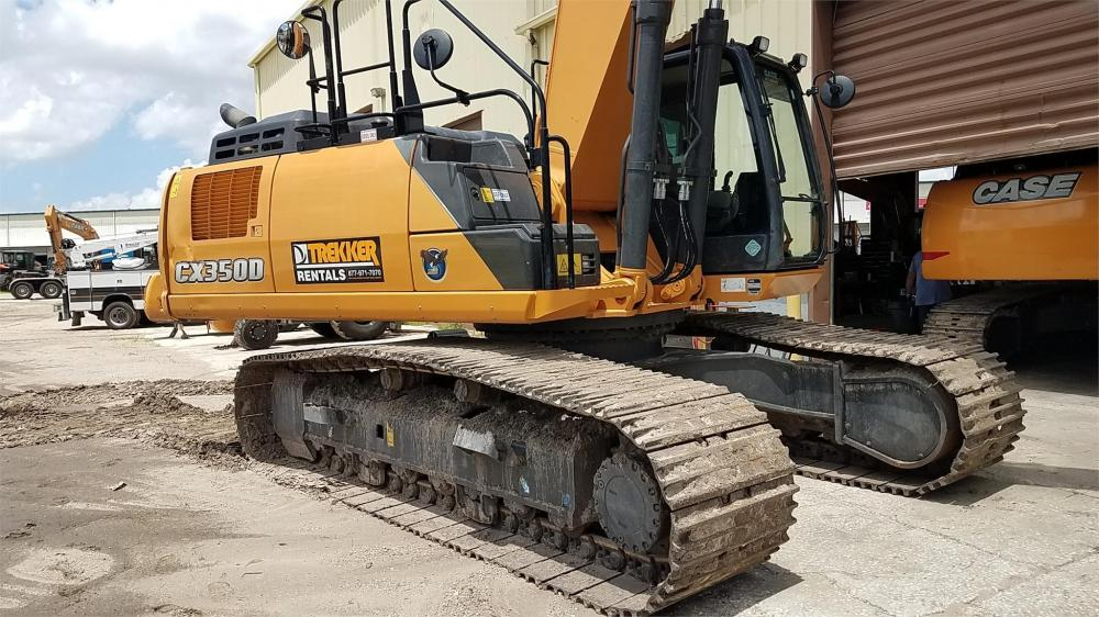 Detail photo of 2016 Case CX350D from Construction Equipment Guide
