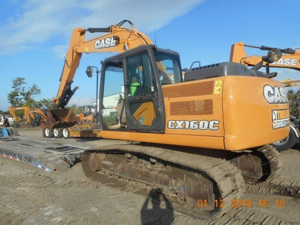 Detail photo of 2015 Case CX160C from Construction Equipment Guide