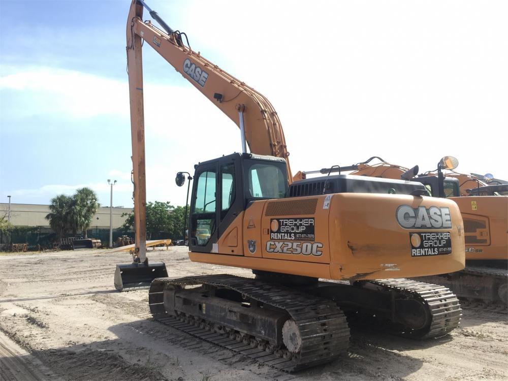 Detail photo of 2013 Case CX250C LR from Construction Equipment Guide