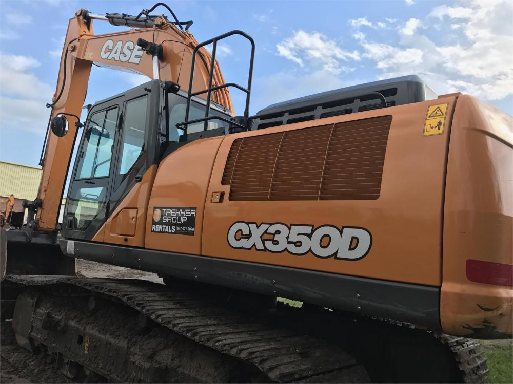 Detail photo of 2017 Case CX350D from Construction Equipment Guide